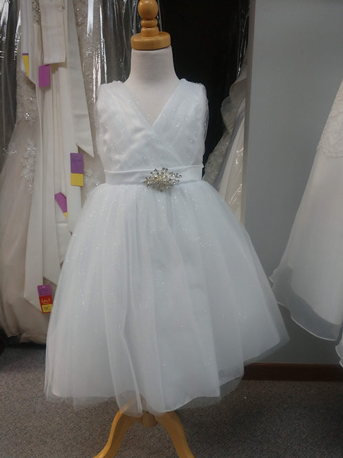 Tip Top Sparkle Flower Girl Dress