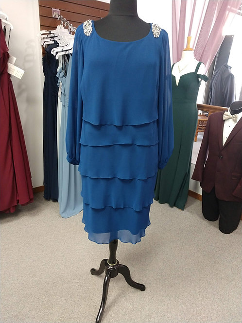Emma Street Mid-Length Ruffle Dress