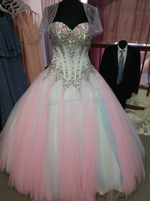 Quinceanera Dress Size 8