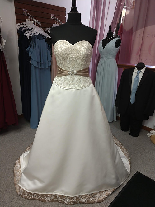 Discontinued Morilee Wedding Dress Size 8