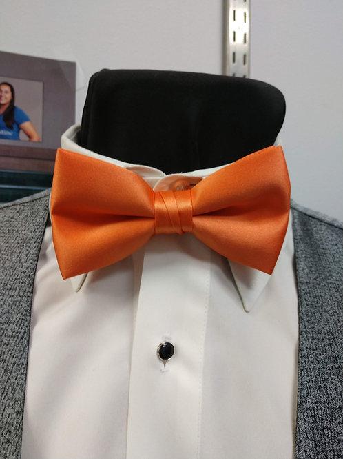 Keepsake Bow-tie in Tangerine