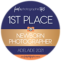 Find A Photographer 1st Place Adelaide Newborn Photographer 2021 Transparent.png
