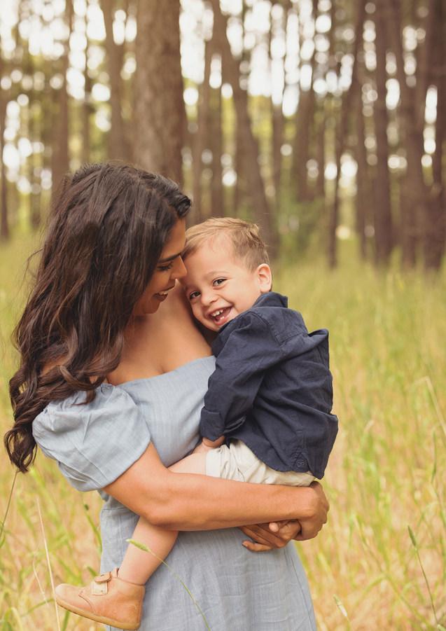 mum and son photo
