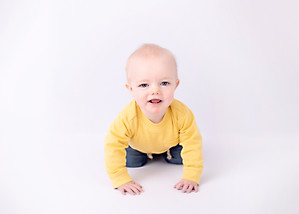 baby crawling photo