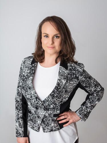 Woman headshot corporate work