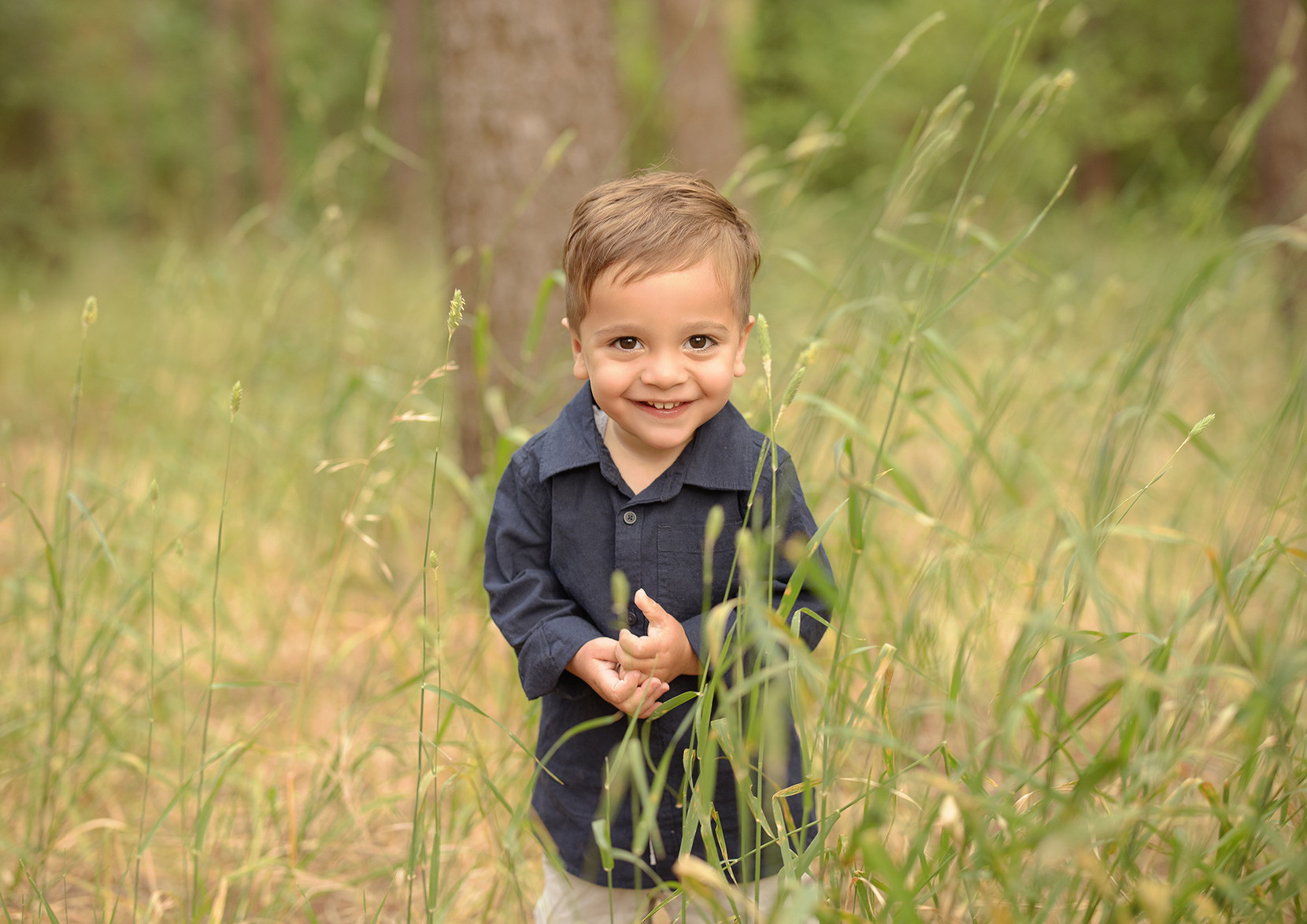 2 year old family session