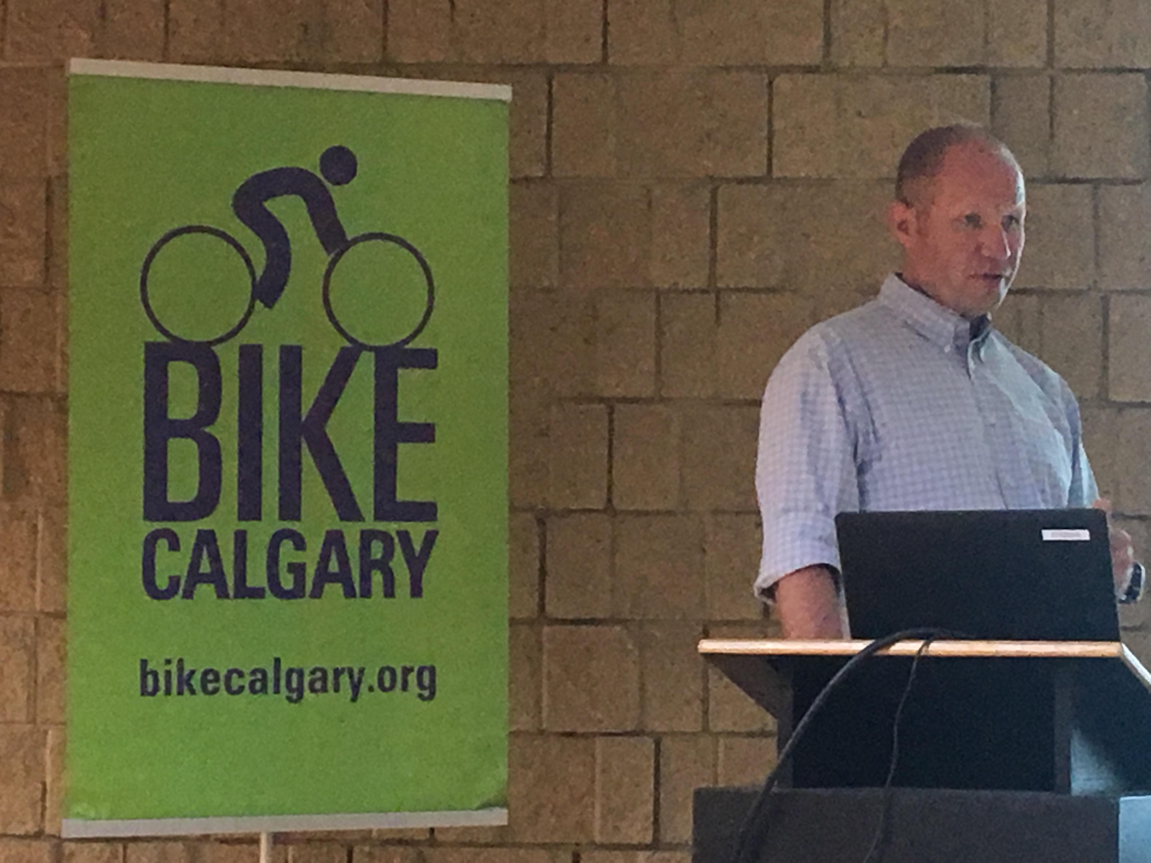 Gary Millard from Bike Calgary