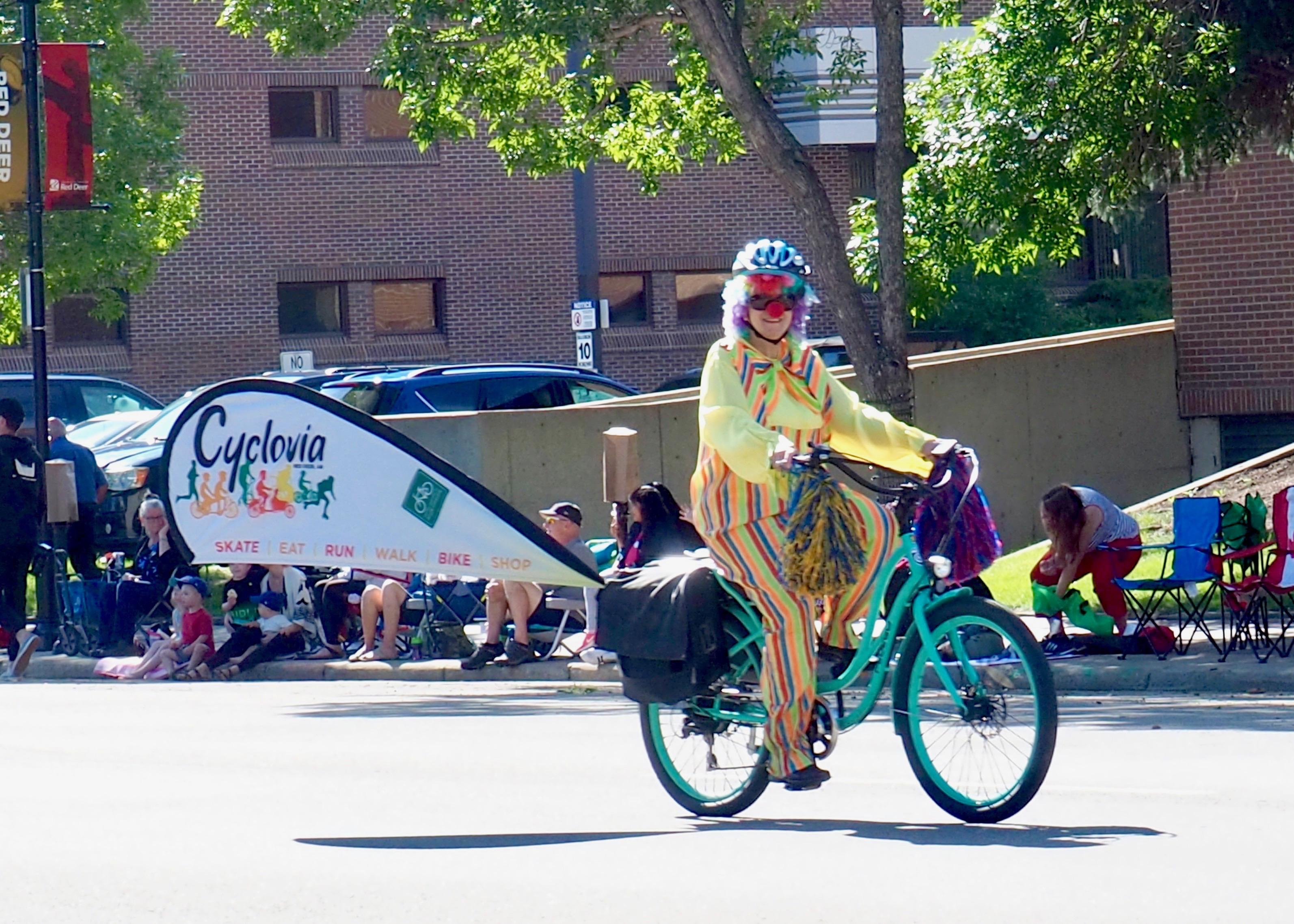 Cyclovia 2019 in the Westerner Parade
