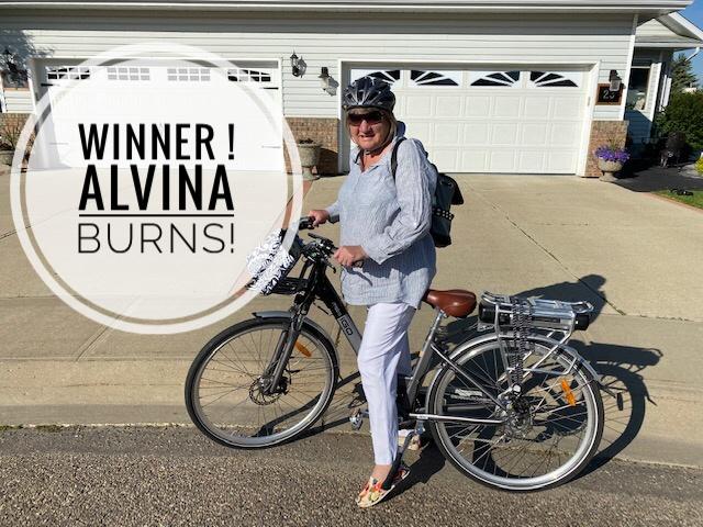 Winner! Alvina Burns