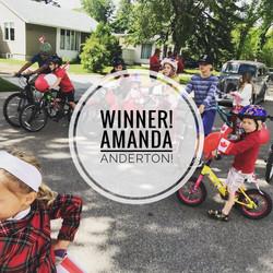 Winner! Amanda Anderton
