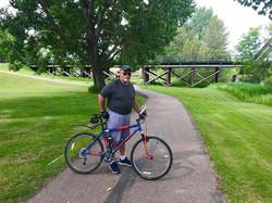 Biking thru COVID-19-26
