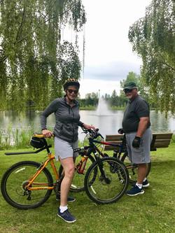 Biking thru COVID-19-23