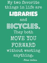 Libraries & Bicycles