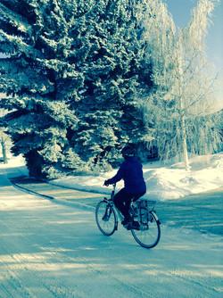 30 Days of Biking in Red Deer