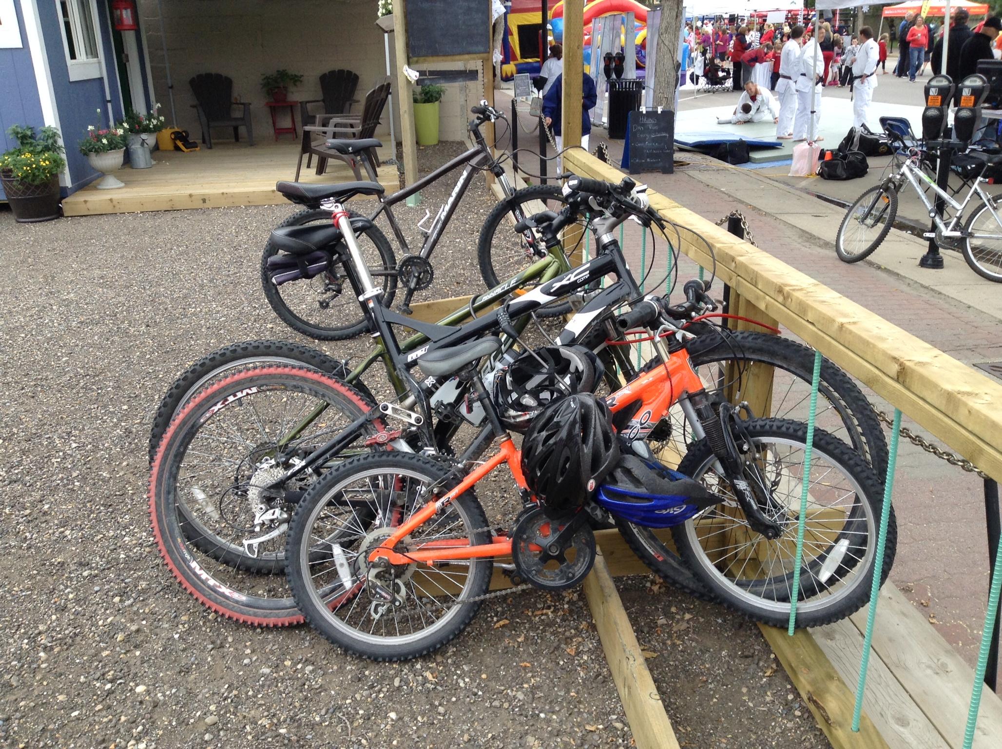 Downtown Bike Parking