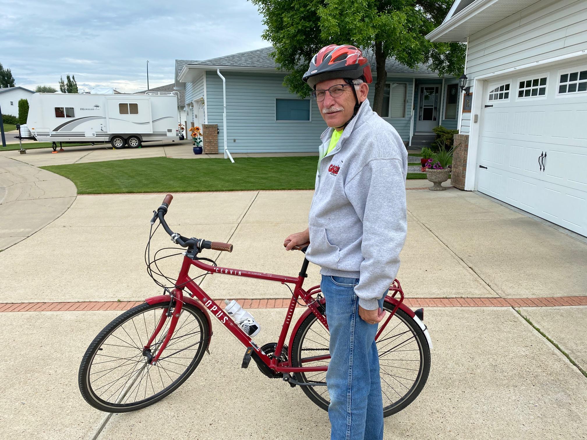Biking thru COVID-19-20
