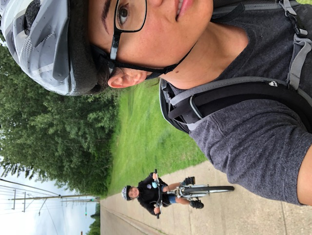 Biking thru COVID-19-21