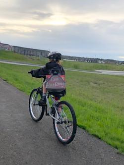 Biking thru COVID-19-22