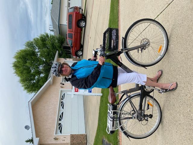Biking thru COVID-19-19