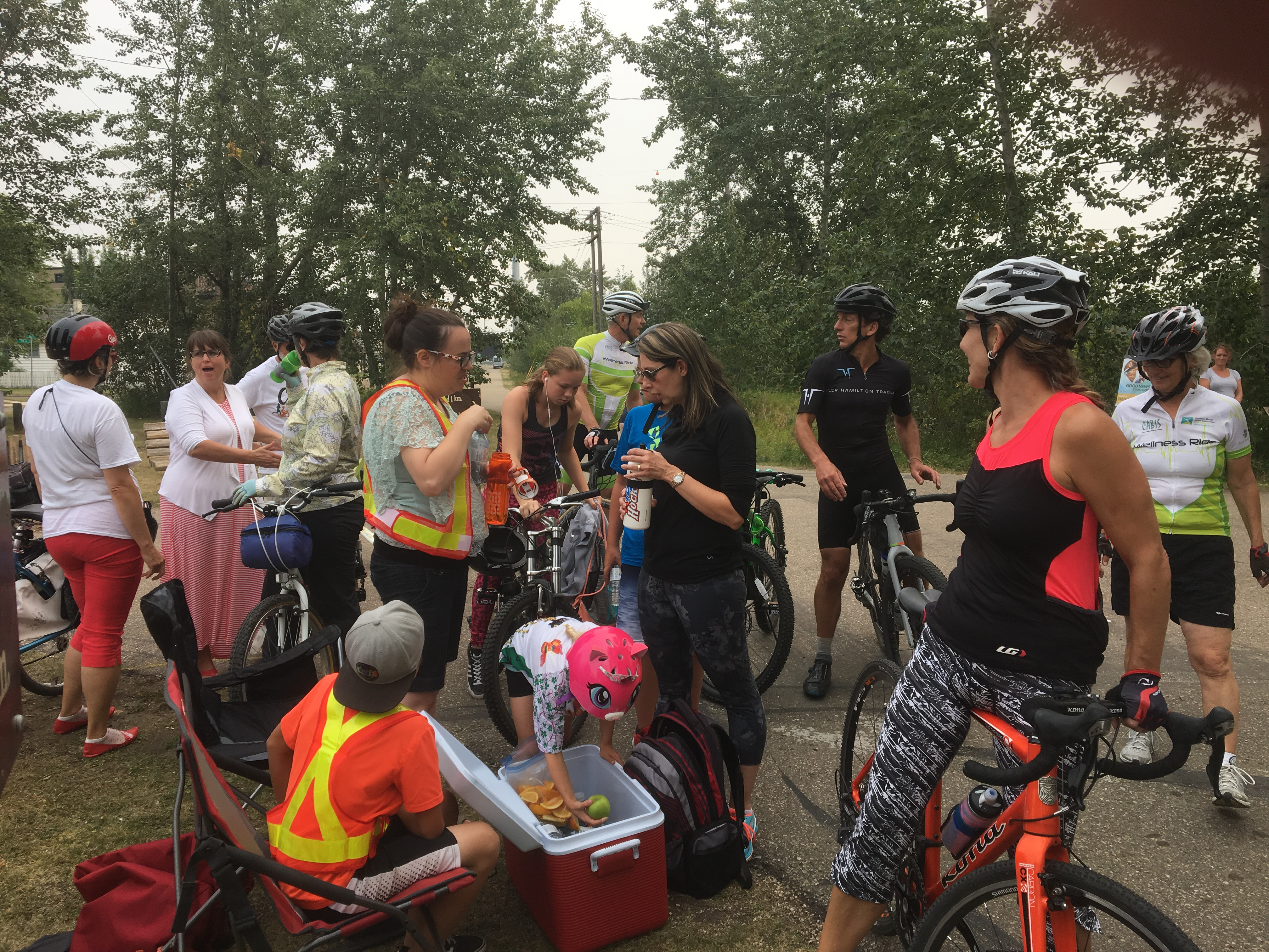 Berry Arch. Wellness Ride 2018