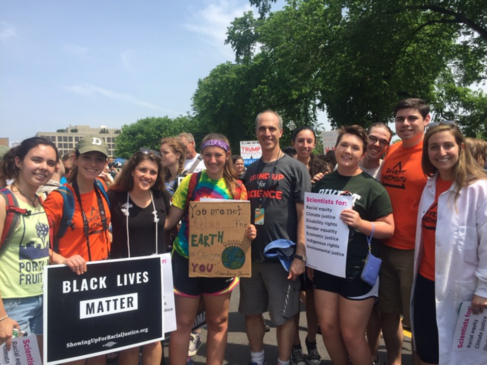 Dartmouth Students attend Climate March in DC