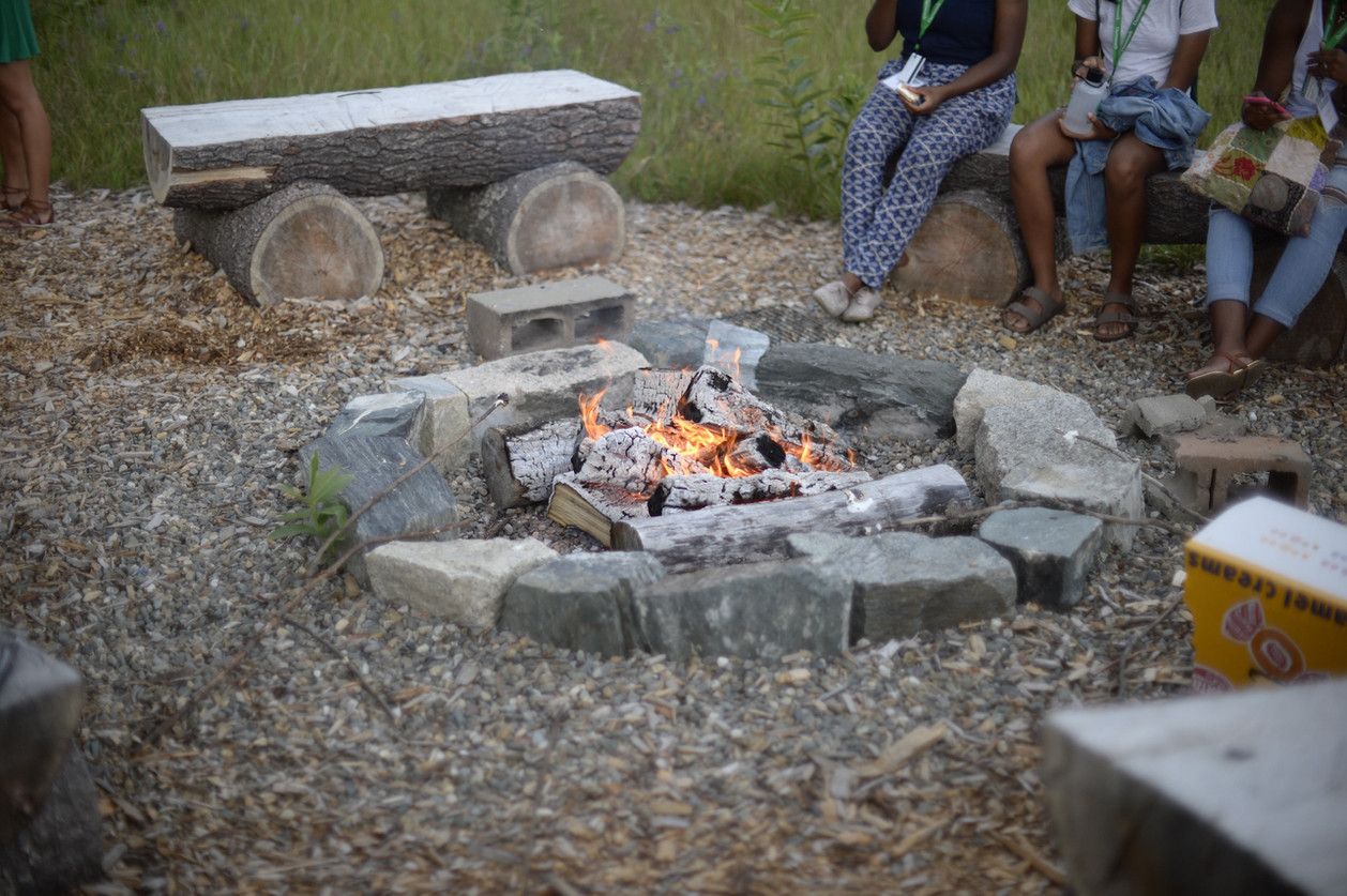 Bonfires at the farm