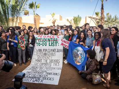 TWO DARTMOUTH ALUMNI JOURNEY TO MOROCCO FOR THE UNITED NATIONS CLIMATE CHANGE CONFERENCE