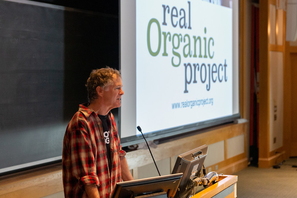 Dave Chapman, Executive Director of the Real Organic Project