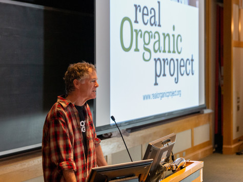 Report from Real Organic Symposium at Dartmouth
