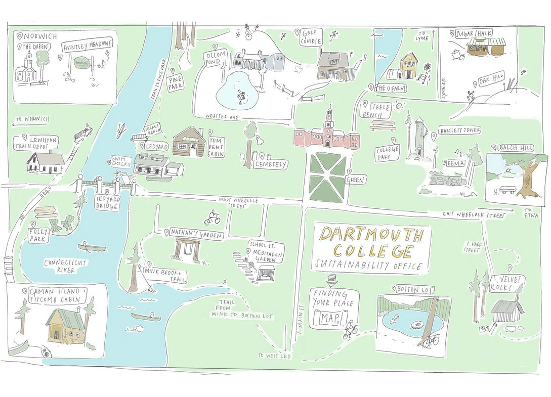 Making Place at Dartmouth Map