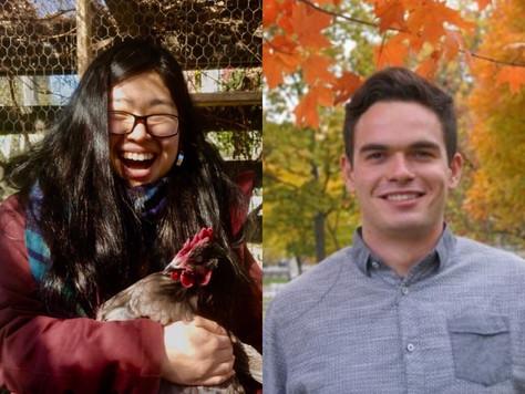 Student Spotlight: Margarita Ren '18 and Paul Vickers '19