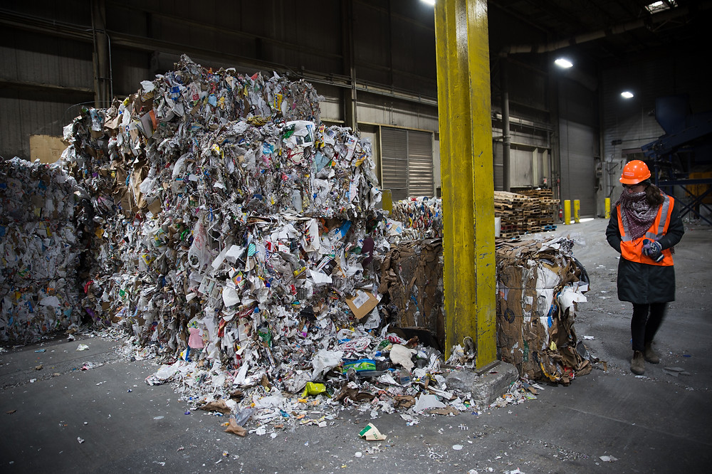 Casella Zero-Sort recycling facility in Rutland, Vermont