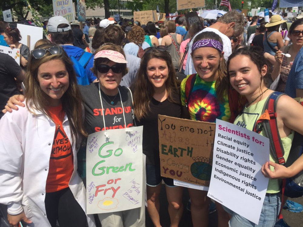 Students and Faculty attend Climate March