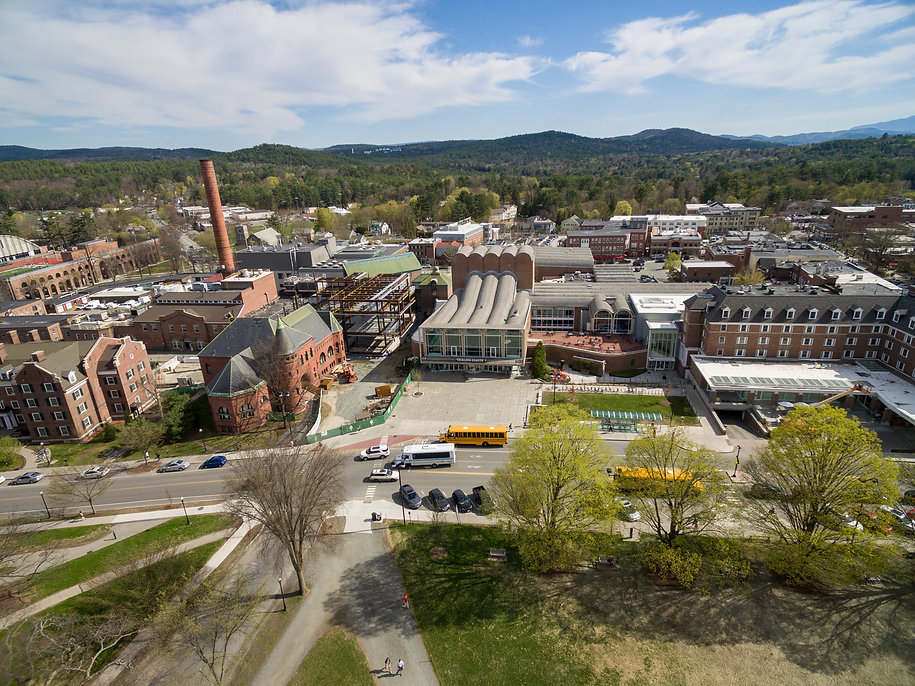Dartmouth College Central Campus Aerial Photo