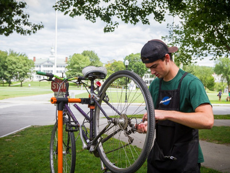JOE FAIRBANKS '17 ON BIKES, SUSTAINABILITY AND THE ART OF STORY TELLING