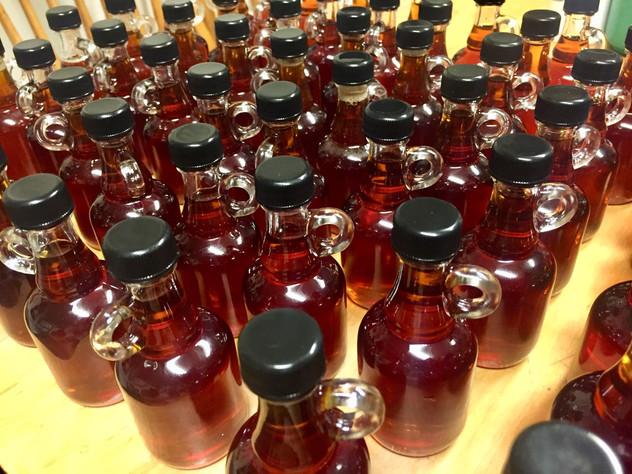 Packaging syrup nips!