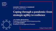 From strategic agility to resilience | London Business School