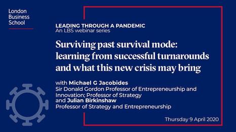 Surviving past survival mode | London Business School