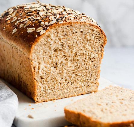 Whole-wheat Multigrain Sandwich Bread