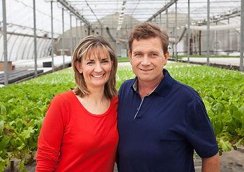 owners, Slegers Greenhouse, organic greenhouse, living organics, raw food