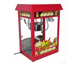 Hopp Hopp Hüpfburg Bielefeld Popcornmaschine