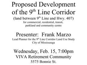 Ninth Line Corridor Meeting