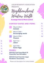 Neighborhood Window Walk!! Click image for contest details