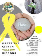Yellow Ribbon for Hope!