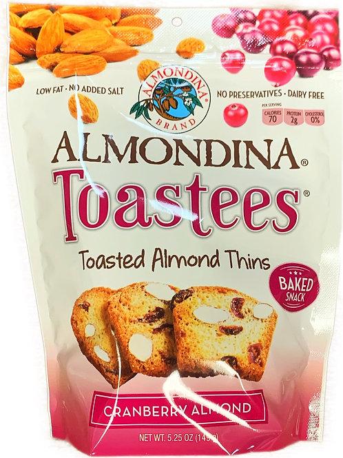 Almondina Cranberry Almond Toastees
