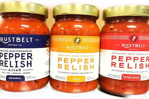 Rust Belt Pepper Mediterranean Relish