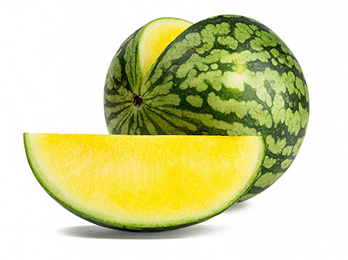 Organic Yellow Seedless Watermelon