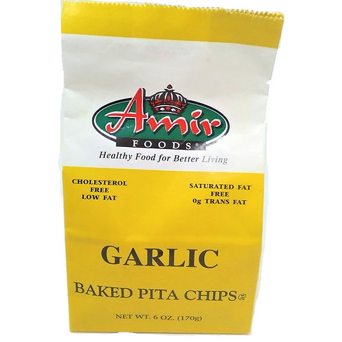 Amir Garlic Baked Pita Chips