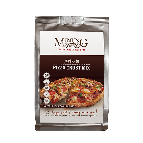 Minus G Gluten Free Baking Mixes Single Serving Pizza
