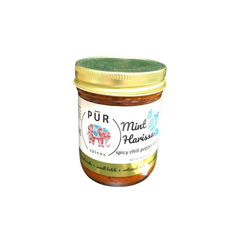 PURspices Mint Spicy Chilli Pepper Sauce